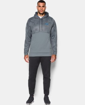 Men's UA Storm Armour® Fleece Patterned Hoodie  1 Color $33.74