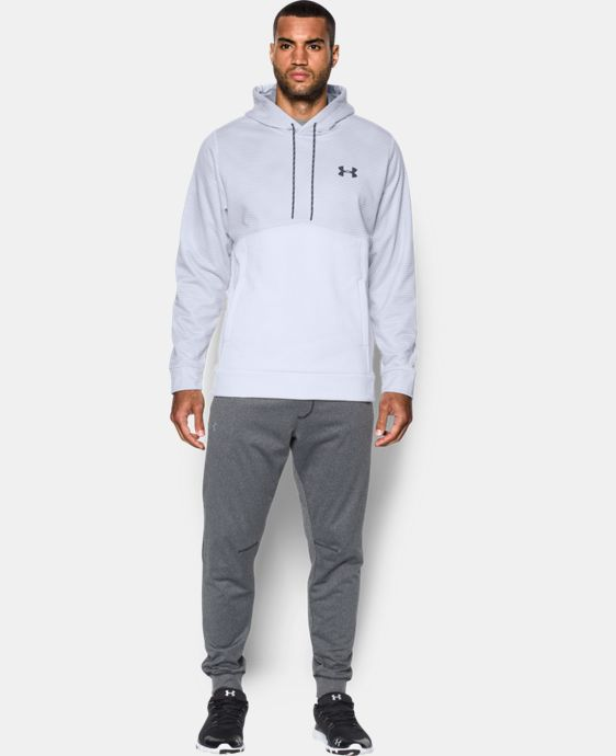 Men's UA Storm Armour® Fleece Patterned Hoodie  1 Color $59.99
