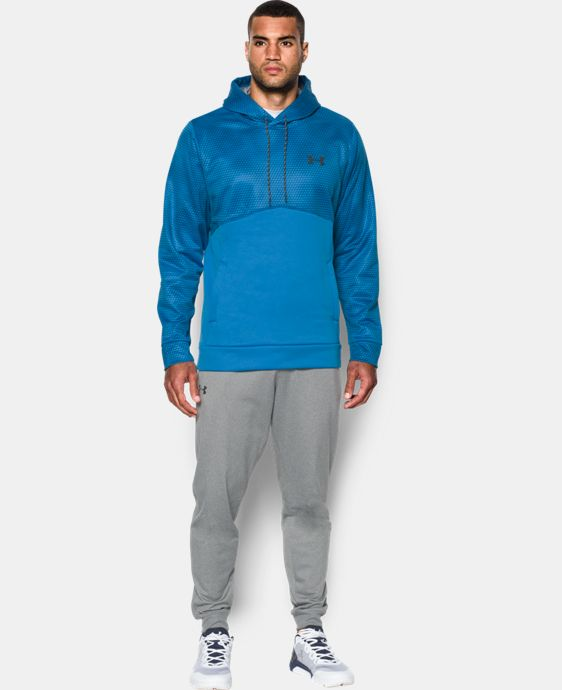 Men's UA Storm Armour® Fleece Patterned Hoodie LIMITED TIME: FREE SHIPPING 1 Color $52.49