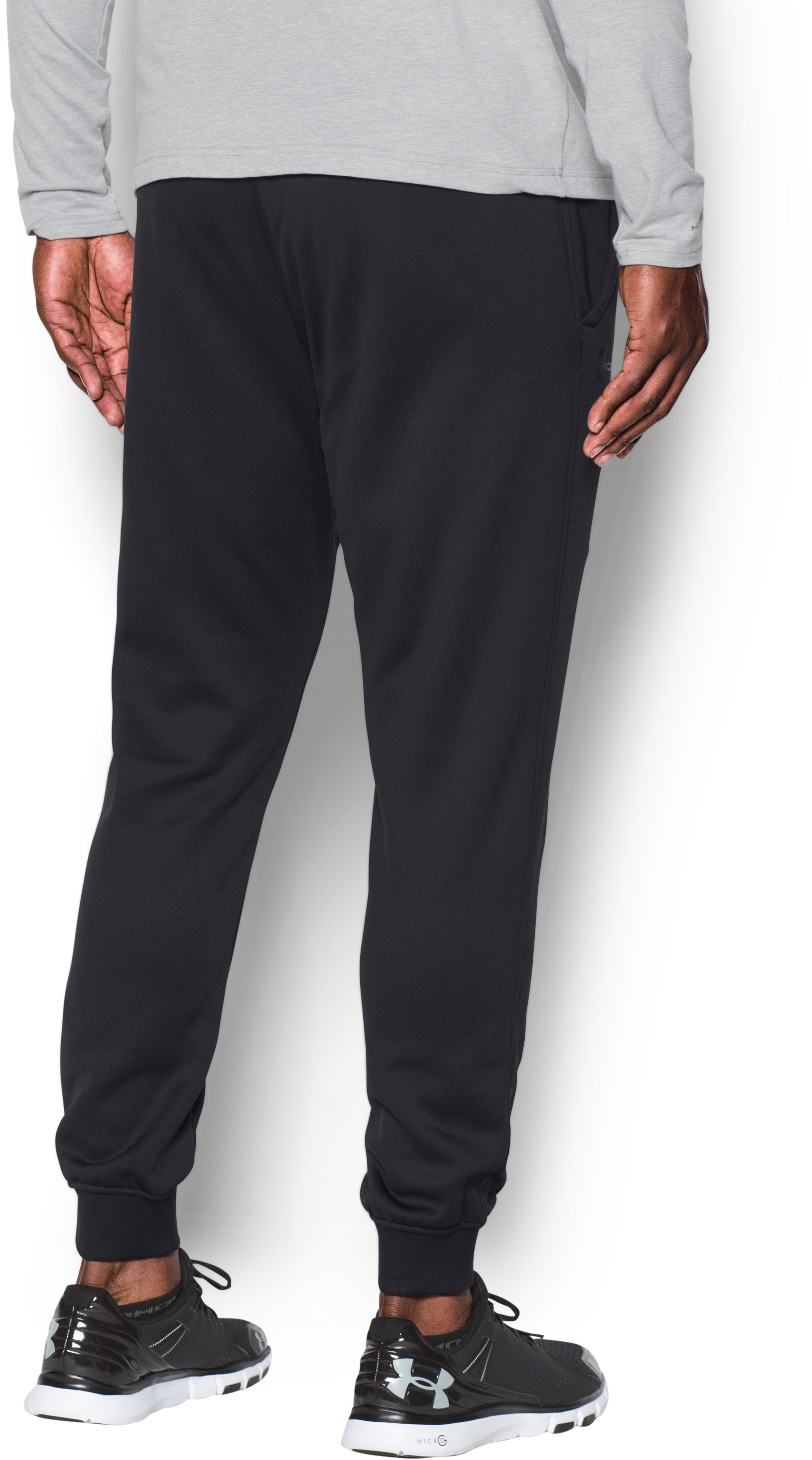Men's UA Storm Armour® Fleece Joggers, Black