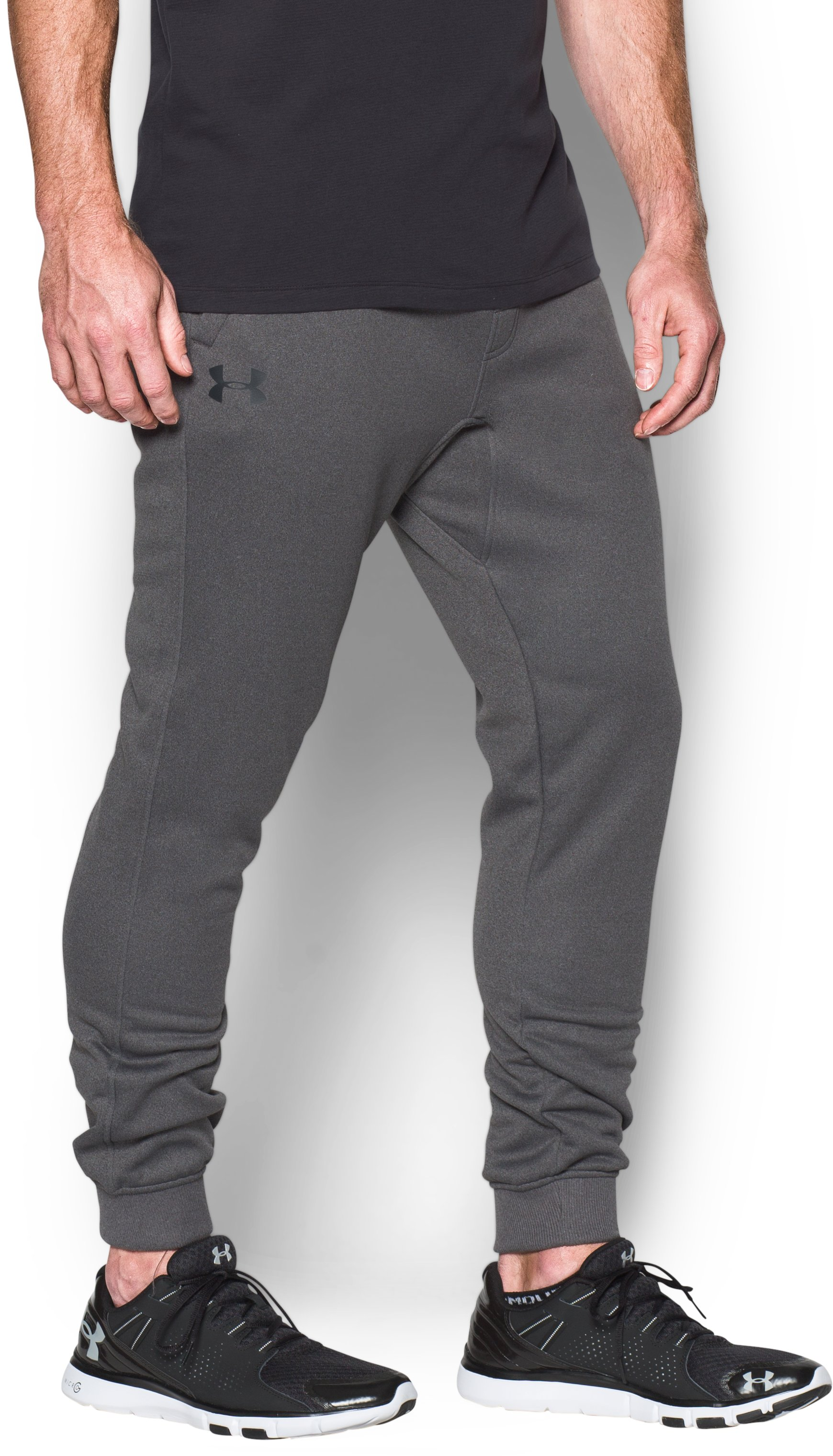 Men's UA Storm Armour Fleece® Joggers, Carbon Heather, undefined