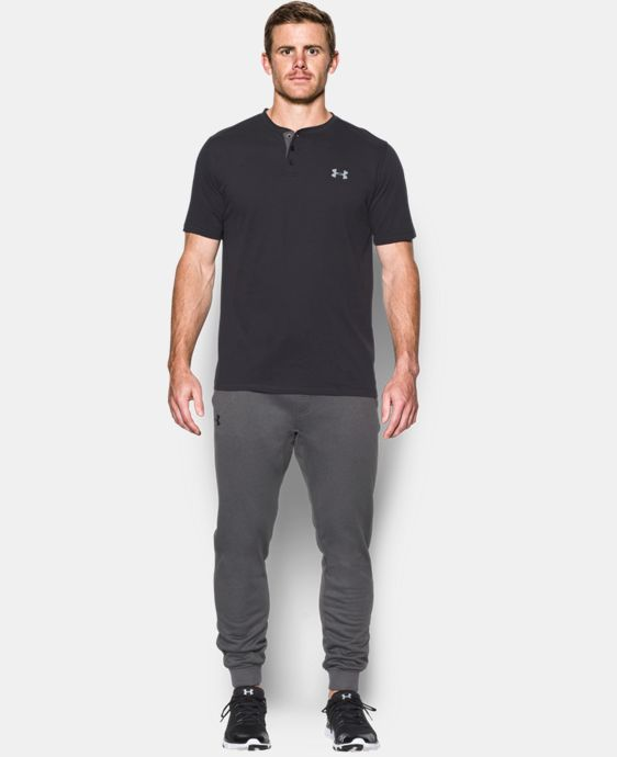 Best Seller Men's UA Storm Armour® Fleece Joggers   $59.99