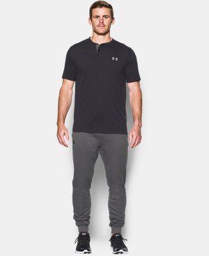 Best Seller Men's UA Storm Armour® Fleece Joggers  4 Colors $59.99