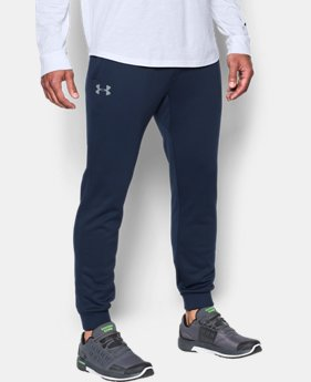 Best Seller Men's UA Storm Armour® Fleece Joggers  6 Colors $59.99