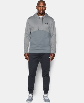 New Arrival  Men's UA Storm Armour® Fleece Twist Hoodie   $69.99