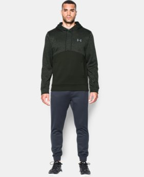 New Arrival  Men's UA Storm Armour® Fleece Twist Hoodie LIMITED TIME: FREE SHIPPING 1 Color $69.99
