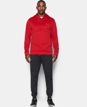 New Arrival  Men's UA Storm Armour® Fleece Twist Hoodie  1 Color $69.99