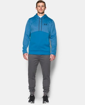 Men's UA Storm Armour® Fleece Twist Hoodie LIMITED TIME: FREE U.S. SHIPPING 2 Colors $39.99