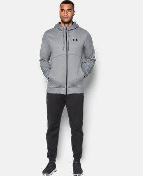 Men's UA Storm Armour® Fleece Full Zip Hoodie  3 Colors $69.99