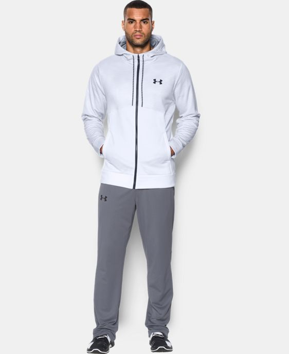 Best Seller  Men's UA Storm Armour® Fleece Full Zip Hoodie  1 Color $59.99