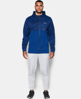 New Arrival  Men's UA Storm Armour® Fleece Full Zip Hoodie  1 Color $79.99