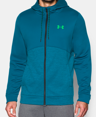 Men's UA Storm Armour Fleece Icon Full Zip Hoodie
