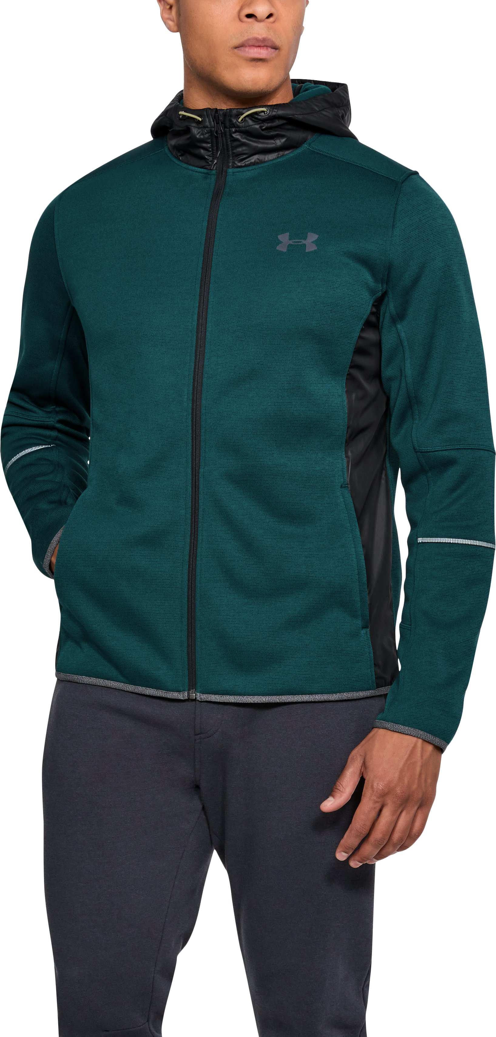 Men's UA Swacket, ARDEN GREEN