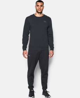 Men's UA Sportstyle Fleece Crew  4 Colors $49.99