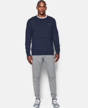 Men's UA Sportstyle Fleece Crew LIMITED TIME: FREE U.S. SHIPPING 1 Color $49.99