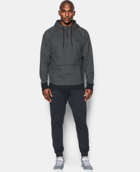 New Arrival  Men's UA Rival Fleece ½ Zip Hoodie   $69.99