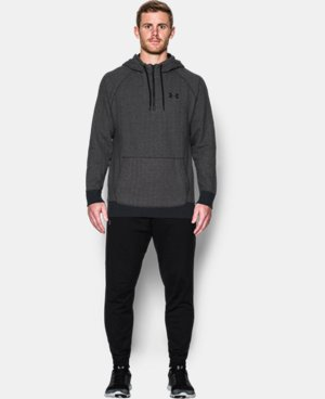 Best Seller  Men's UA Rival Fleece ½ Zip Hoodie  2 Colors $52.99