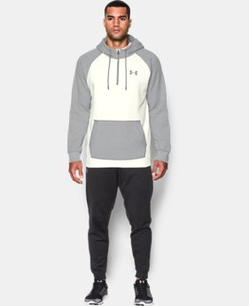 Best Seller  Men's UA Rival Fleece ½ Zip Hoodie LIMITED TIME: FREE SHIPPING 1 Color $52.99