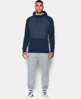 Best Seller Men's UA Rival Fleece ½ Zip Hoodie  1 Color $59.99