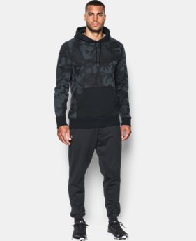 New Arrival  Men's UA Rival Fleece Printed Hoodie  1 Color $69.99