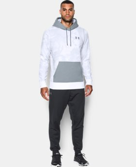 Men's UA Rival Fleece Printed Hoodie  1 Color $25.31 to $26.99