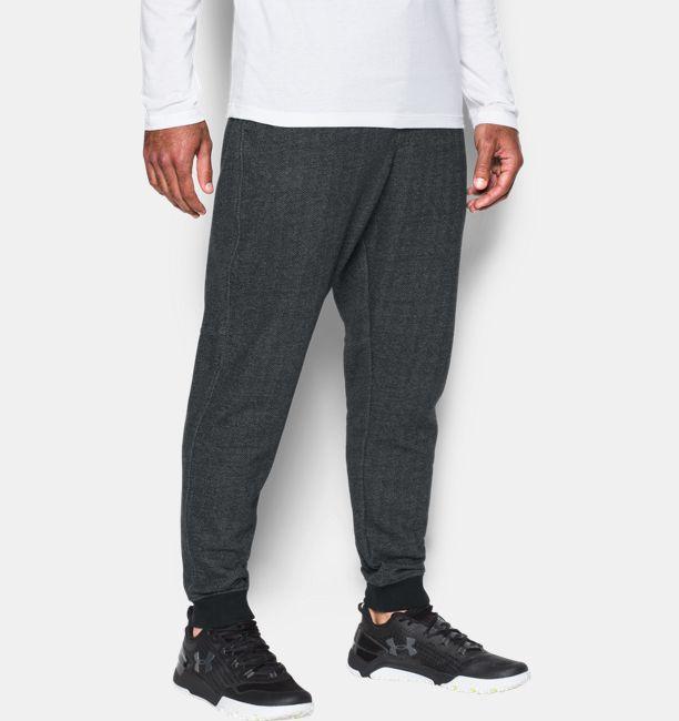 UA Rival – Pantalon de jogging en polaire à motif pour homme  1016d4a9e54