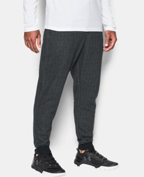 Men's UA Rival Fleece Patterned Joggers  1 Color $25.31