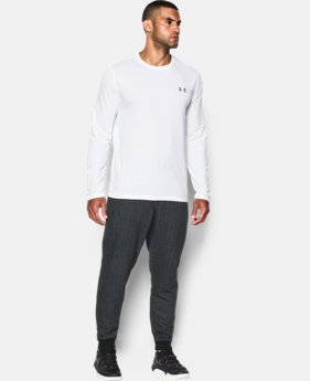 New Arrival  Men's UA Rival Fleece Patterned Joggers  4 Colors $69.99