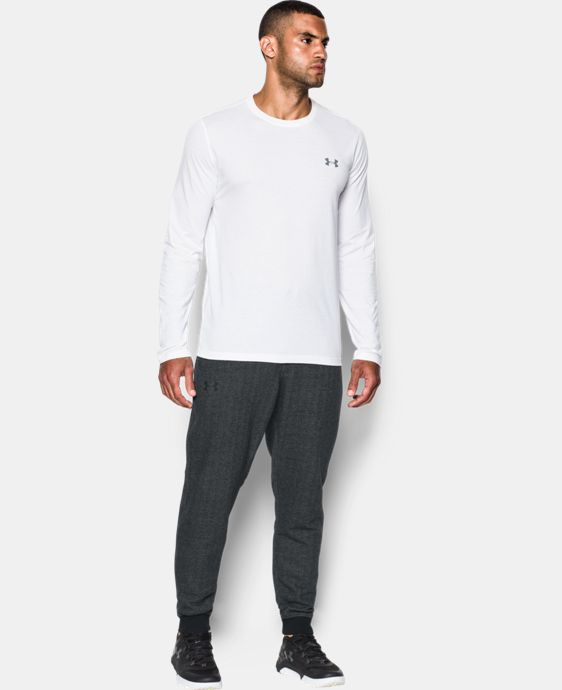 Men's UA Rival Fleece Patterned Joggers  5 Colors $69.99