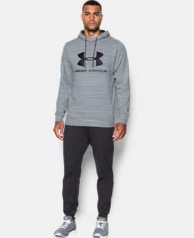 Best Seller Men's UA Sportstyle Fleece Graphic Hoodie  3 Colors $59.99