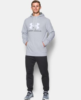 Men's UA Sportstyle Fleece Graphic Hoodie  2 Colors $52.99