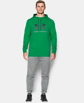 New Arrival  Men's UA Sportstyle Fleece Graphic Hoodie   $69.99
