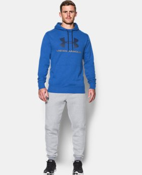 New Arrival Men's UA Sportstyle Fleece Graphic Hoodie  1 Color $59.99