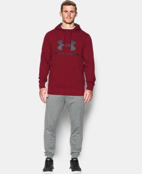 Best Seller Men's UA Sportstyle Fleece Graphic Hoodie   $59.99