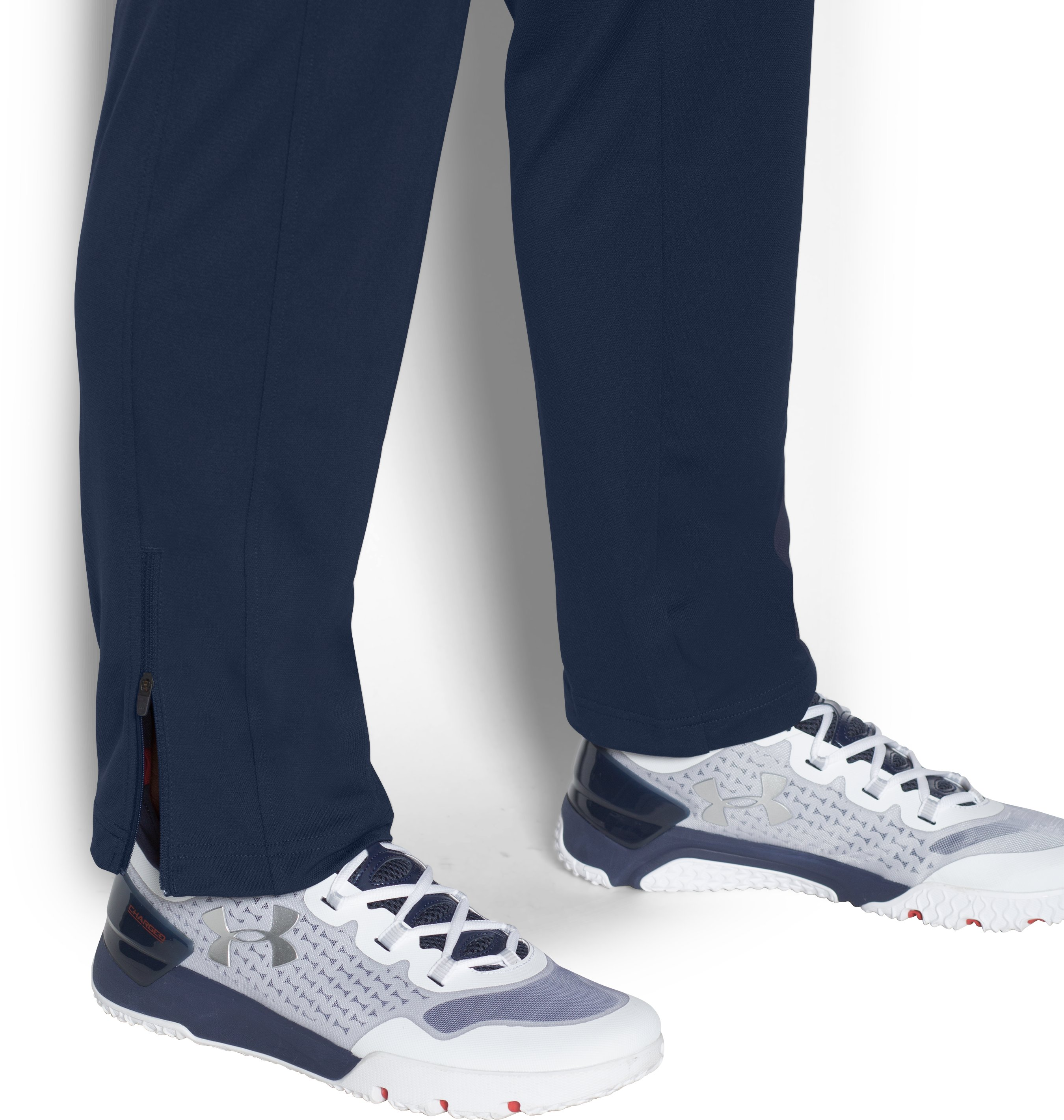 Men's UA Maverick Pants, Midnight Navy,