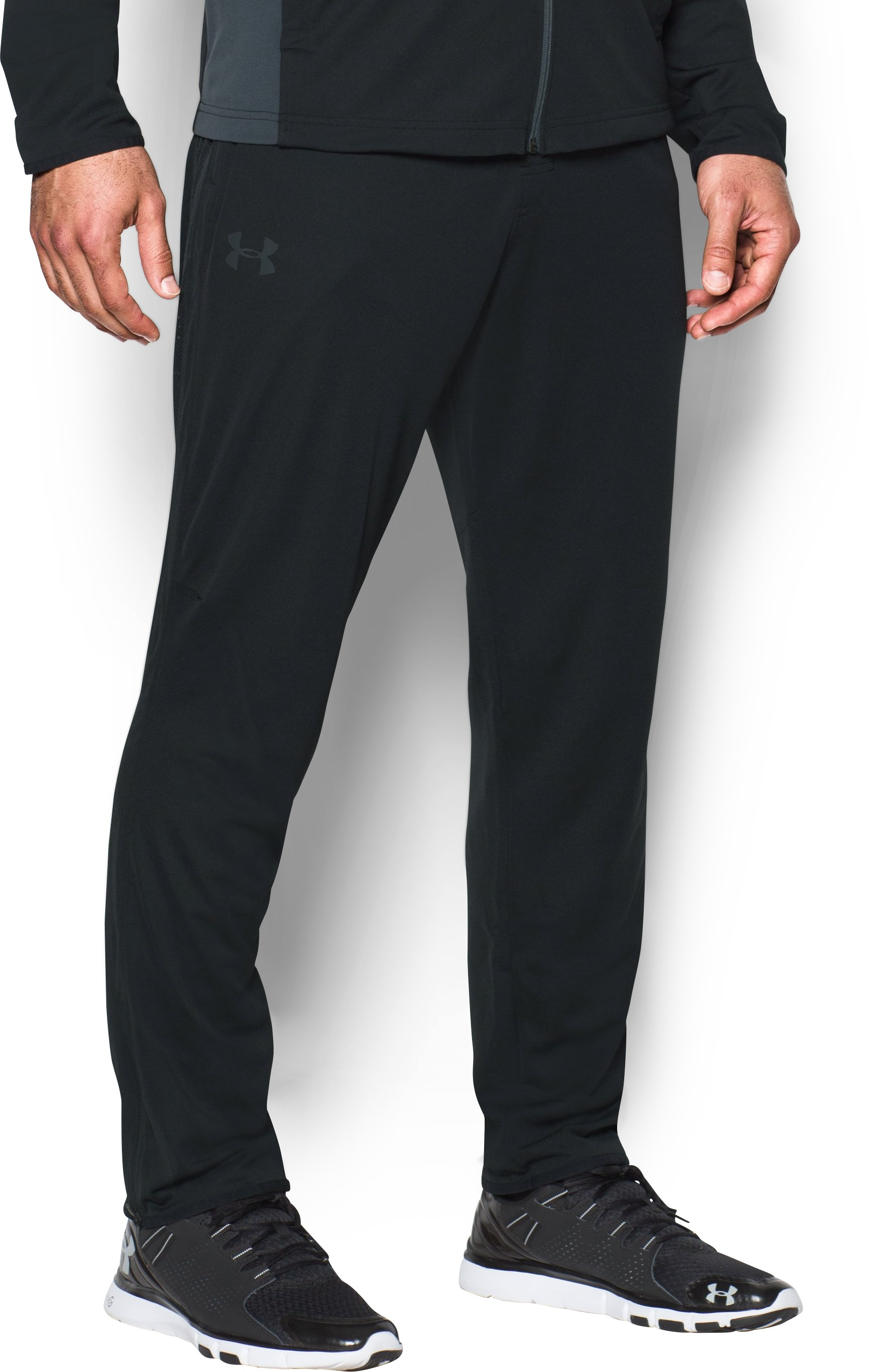 Men's UA Maverick Tapered Pants, Black , zoomed image