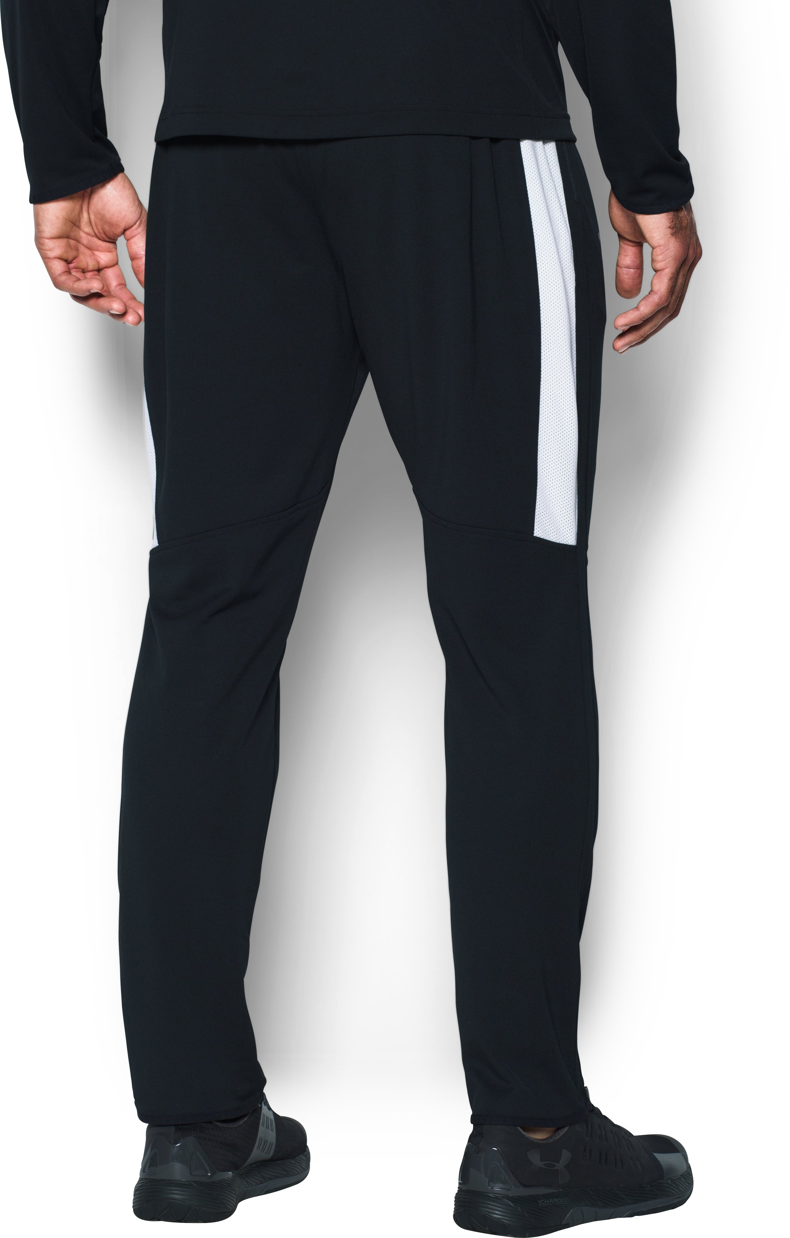 Men's UA Maverick Tapered Pants, Black ,