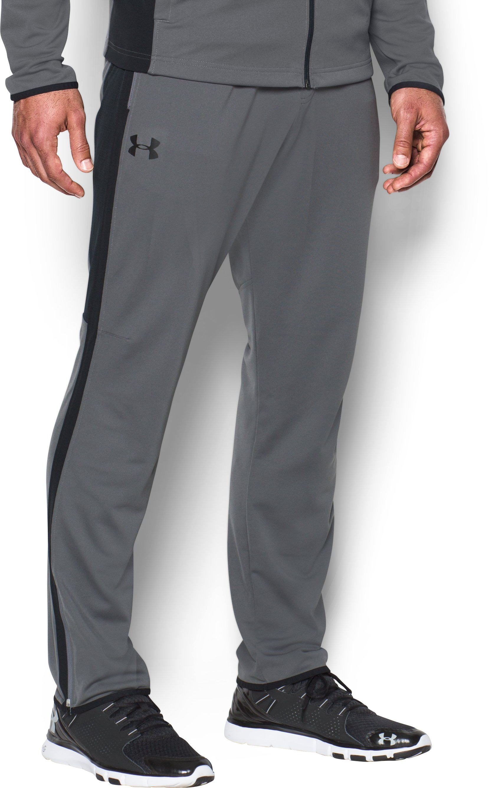 Men's UA Maverick Tapered Pants, Graphite