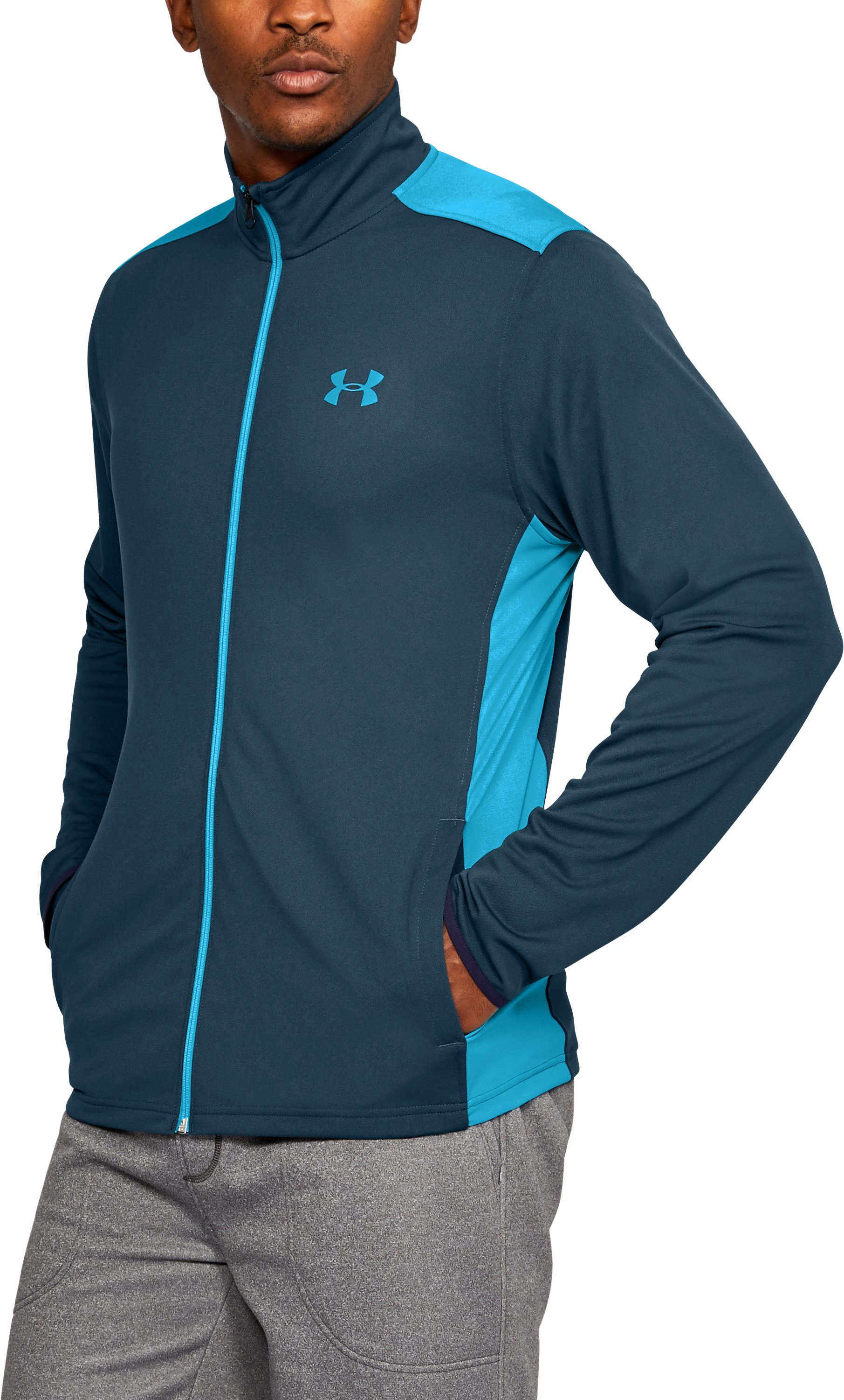 Men's UA Maverick Jacket, TRUE INK