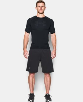 Men's UA HeatGear® Armour Printed Short Sleeve Compression Shirt  LIMITED TIME: FREE SHIPPING 2 Colors $34.99