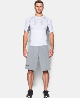 Men's UA HeatGear® Armour Printed Short Sleeve Compression Shirt   3 Colors $34.99