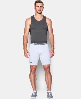 Men's UA HeatGear® Armour Printed Compression Shorts  1 Color $22.99