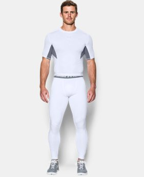 New Arrival  Men's UA HeatGear® Armour Printed Compression Leggings  2 Colors $49.99
