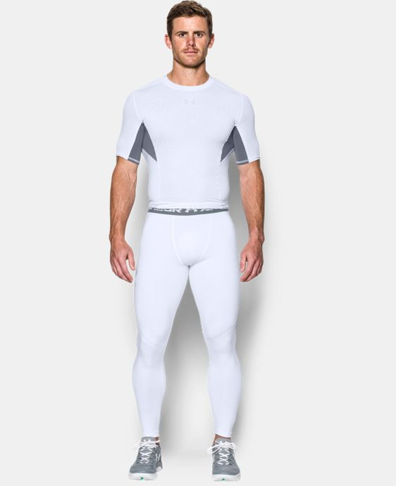 Men's UA HeatGear® Armour Printed Compression Leggings LIMITED TIME: FREE U.S. SHIPPING 1 Color $44.99