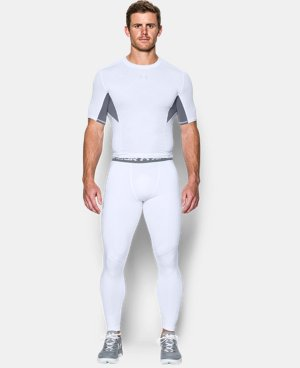 Men's UA HeatGear® Armour Printed Compression Leggings LIMITED TIME: FREE U.S. SHIPPING 2 Colors $44.99