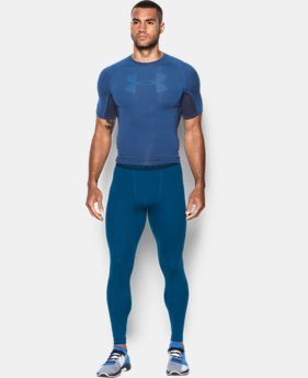 Men's UA HeatGear® Armour Printed Compression Leggings  1 Color $33.99