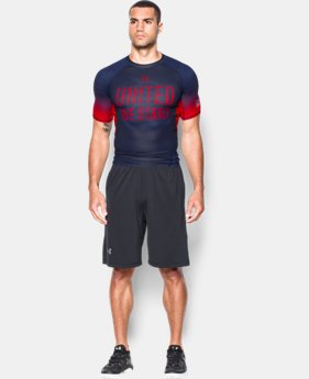 Men's UA Freedom HeatGear® Armour Compression Shirt LIMITED TIME: FREE SHIPPING 2 Colors $44.99