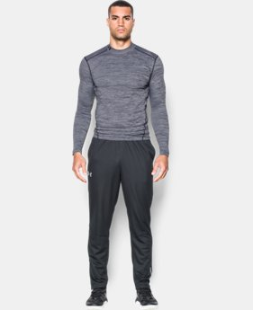 New Arrival  Men's UA ColdGear® Armour Twist Compression Mock  1 Color $69.99