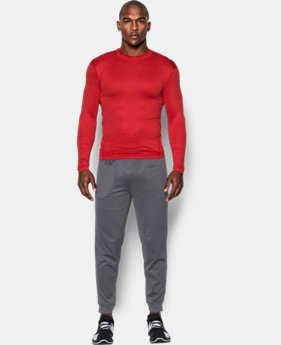 Men's UA ColdGear® Armour Twist Compression Mock  1 Color $52.49