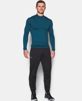 Men's UA ColdGear® Armour Twist Compression Mock  1 Color $44.99